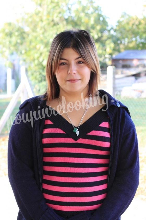 Relooking Adeline - Adeline - 18 ans - Niort