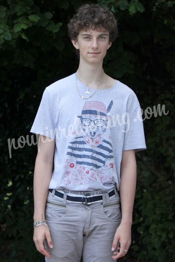 Relooking Homme - Matthieu  -17 ans - La Rochelle