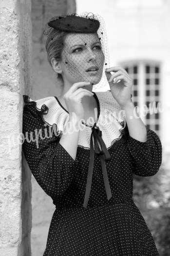 Séance photos d'époque, sexy & glamour - Priscilla - La Rochelle