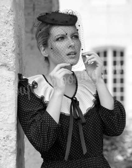 Shooting   - Séance photos d'époque, sexy & glamour - Priscilla - La Rochelle -  ans -