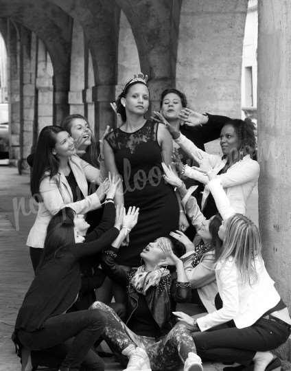 Shooting   - Enterrement vie de jeune fille - Fatou - La Rochelle -  ans -