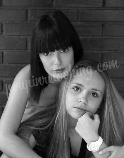 Shooting   - Séance Photo entre amies - Marie & Marie - Niort -  ans -