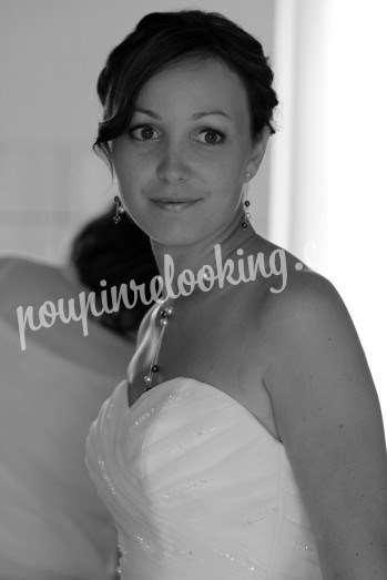 Préparation Mariage Chignon - Audrey - Royan