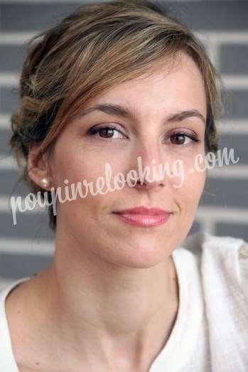 Préparation Mariage Chignon - Céline - La Rochelle