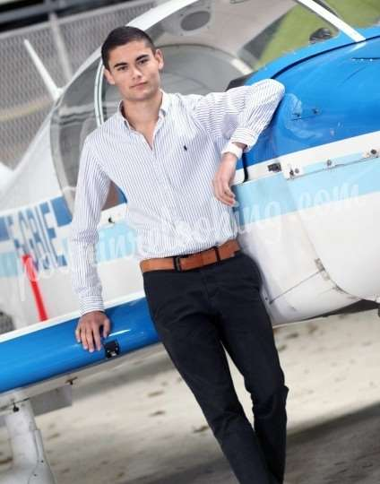 Shooting   - Shooting Homme Aviation - Christophe - La Rochelle -  ans -