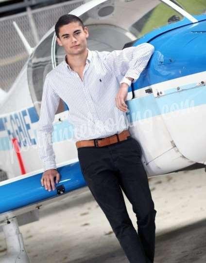 Shooting   - Shooting Homme Aviation - Christophe - La Rochelle -  ans -