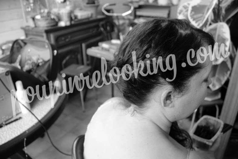 Préparation Mariage Chignon - Fanny - Luçon