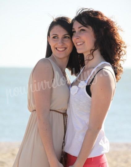 Shooting   - Séance Photo entre Soeurs - Marie & Pauline - La Rochelle -  ans -