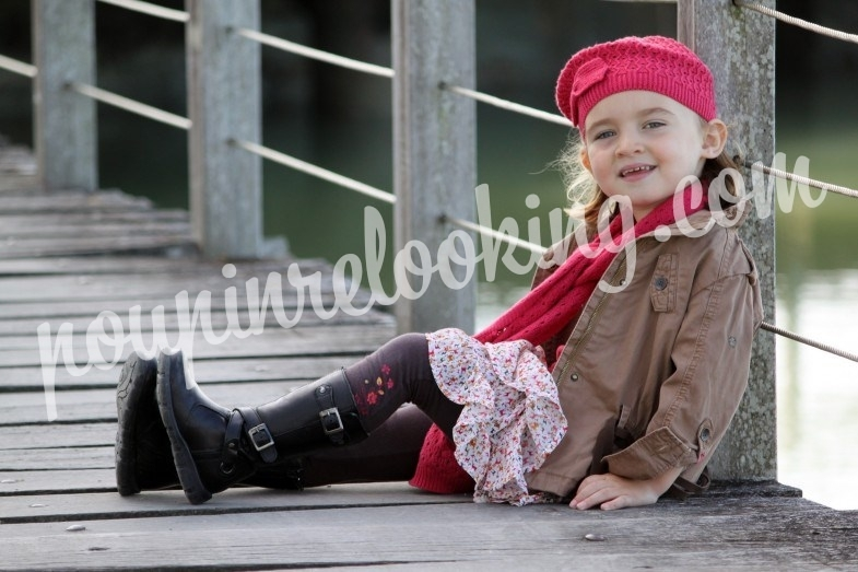 Séance Photo Enfant - Lisa - Ile de Ré - Shooting 2012