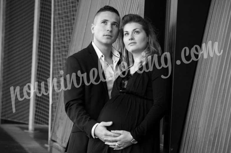 Séance Photo Couple & Grossesse – Pierre & Sophie – Bordeaux