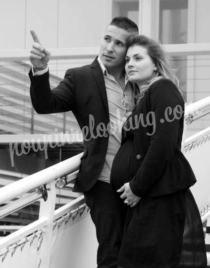 Shooting   - Séance Photo Couple & Grossesse – Pierre & Sophie – Bordeaux -  ans -