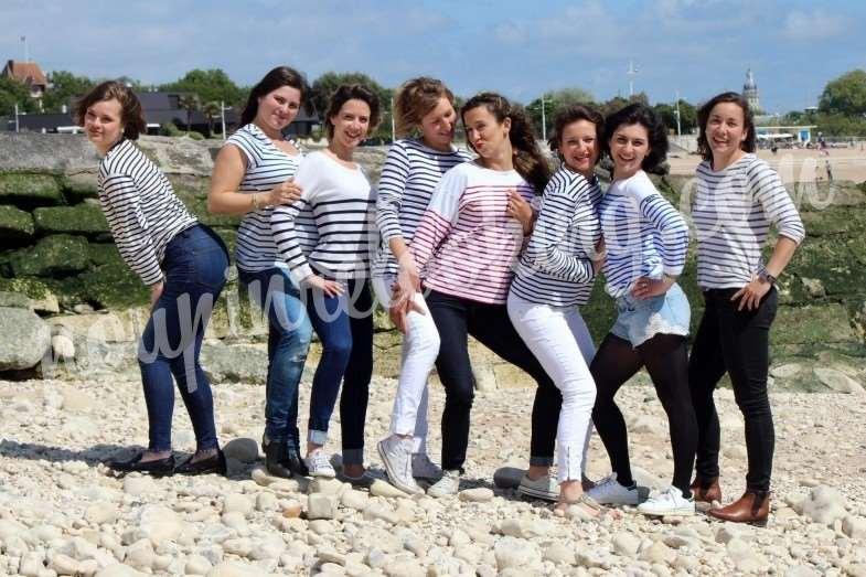 Séance Photo Enterrement Vie de Jeune Fille – Sophie – La Rochelle