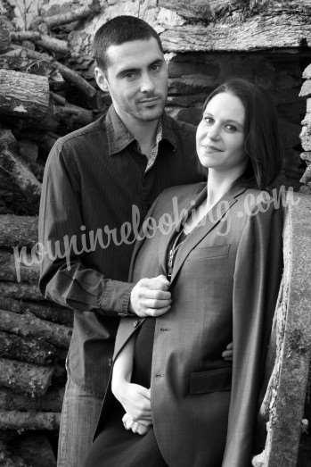 Séance Photo Couple & Grossesse - Fanny & Karl - La Roche-sur-Yon
