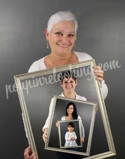 Shooting   - Shooting Tableaux Générations de Famille – La Rochelle – Cynthia et sa famille -  ans -