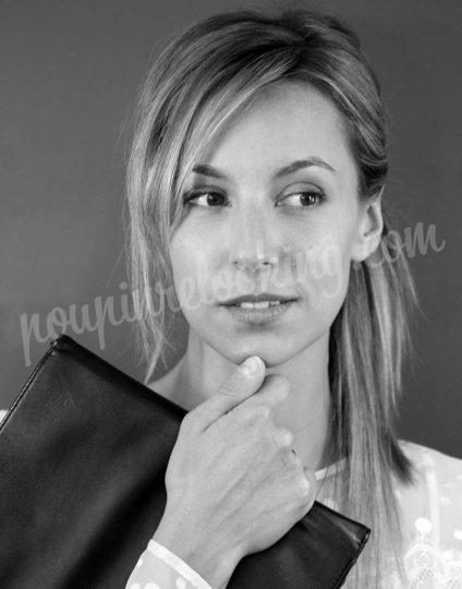 portraits noir  u0026 blanc - vicky - la rochelle