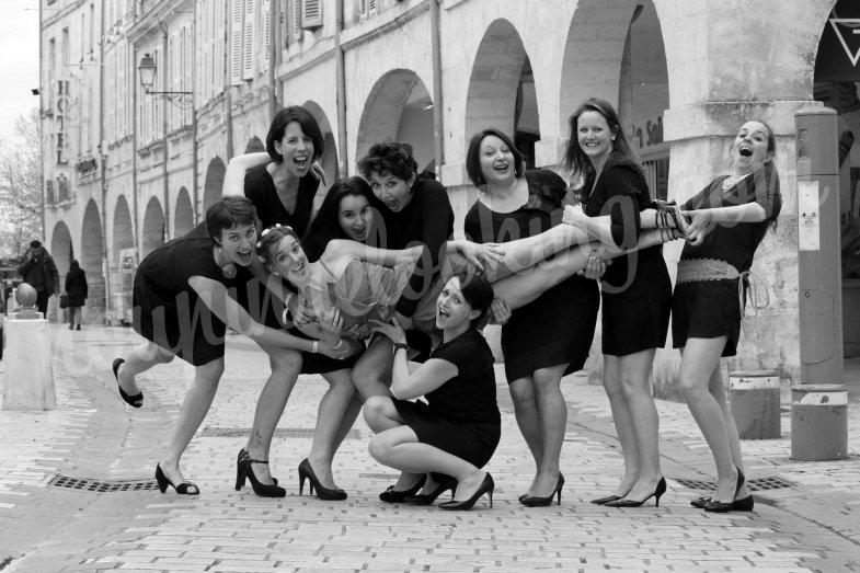 Séance Photo Enterrement Vie de Jeune Fille – La Rochelle – Emilie