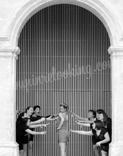 Shooting   - Séance Photo Enterrement Vie de Jeune Fille – La Rochelle – Emilie -  ans -