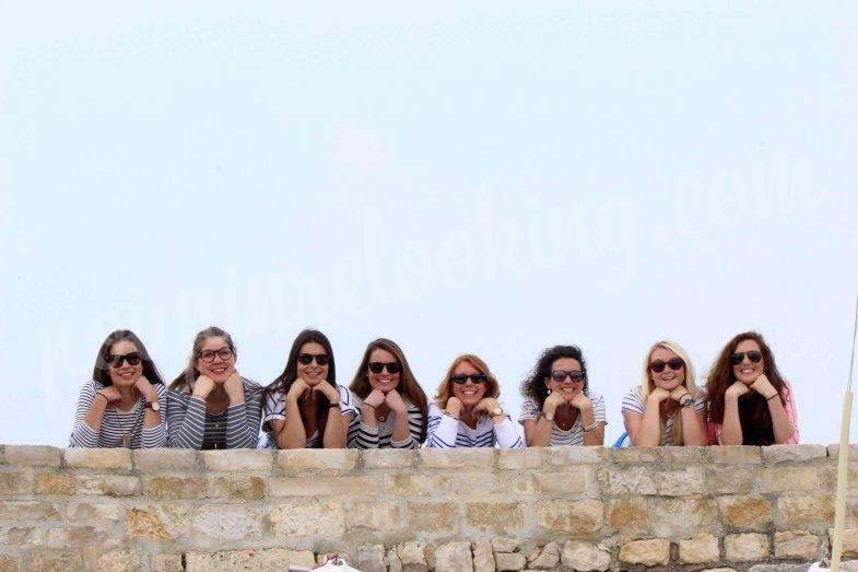 Séance photo EDVJF sur la plage de La Rochelle - Margaux