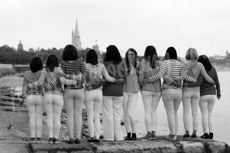 Séance photo EDVJF photobooth sur La Rochelle – Déborah