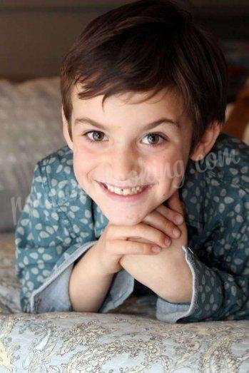 Shooting photo petit garçon sur l'île de Ré - Maxence