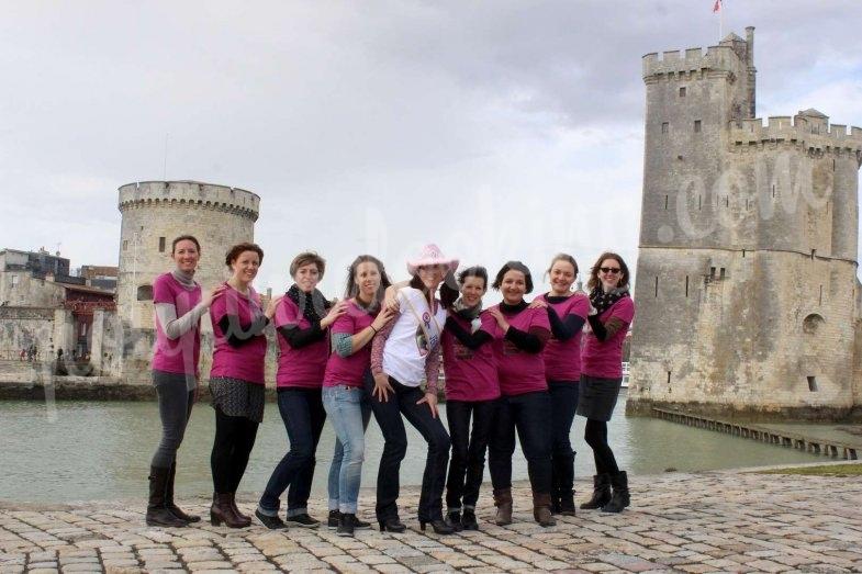 Séance Photos Enterrement Vie de Jeune Fille sur La Rochelle – Corine