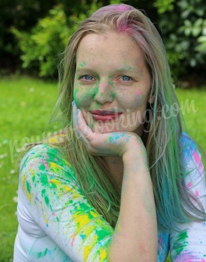 Shooting   - Séance Photo Holi Time EVJF – La Rochelle – Léa -  ans -