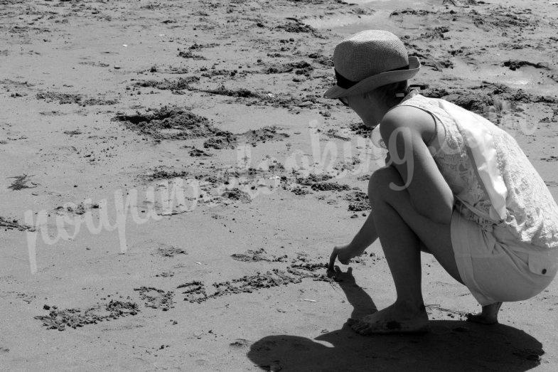 Séance photos Enterrement de vie de jeune fille sur Chatelaillon - Alizée