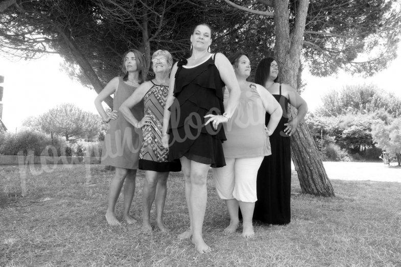 Séance photo EVJF aux minimes - La Rochelle - Sabrina