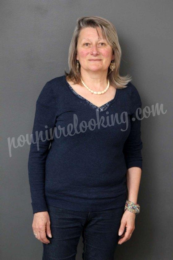 Relooking Visage sur Bordeaux - Aline - 60 ans