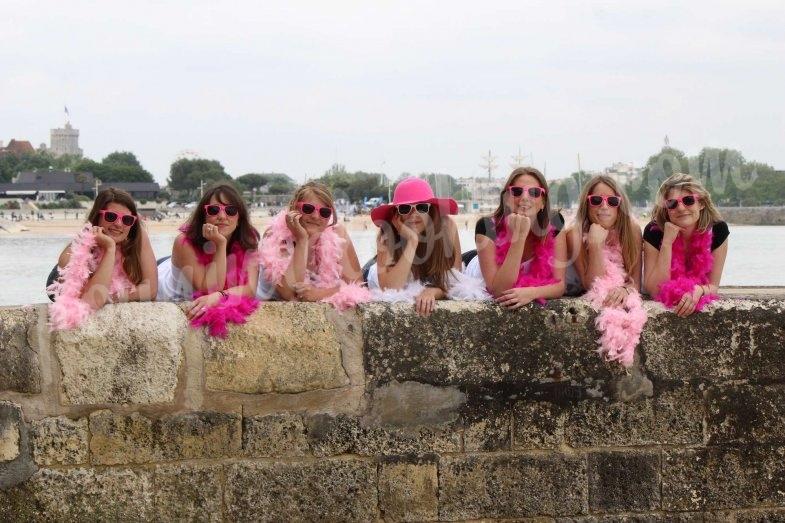 Séance photo déguisée EVJF sur La Rochelle - Fanny