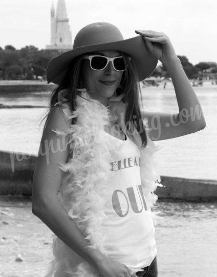 Shooting   - Séance photo déguisée EVJF sur La Rochelle - Fanny -  ans -