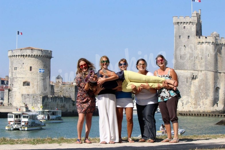 Enterrement de vie de jeune fille au gabut sur La Rochelle - Sophie