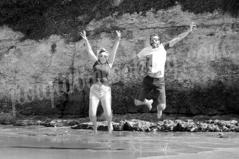 Séance photo EVJF sur Royan - Marjorie et Clément