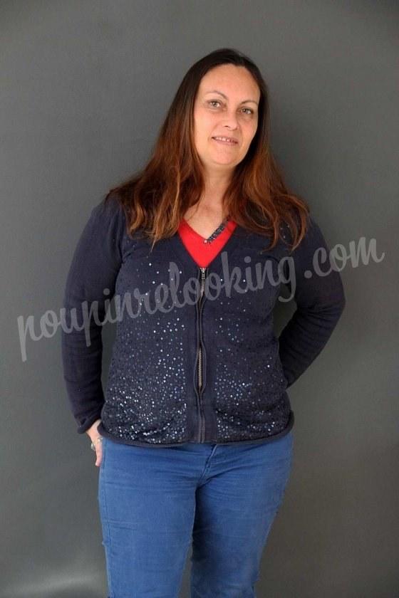 Relooking Complet avec accompagnement boutique sur Angers - Lisa - 43 ans