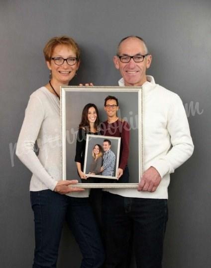 Shooting   - Séance photo génération de famille entre parents et enfants - Marie -  ans -