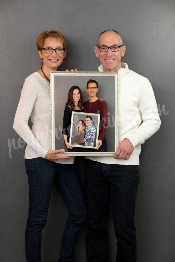 Séance photo génération de famille entre parents et enfants - Marie