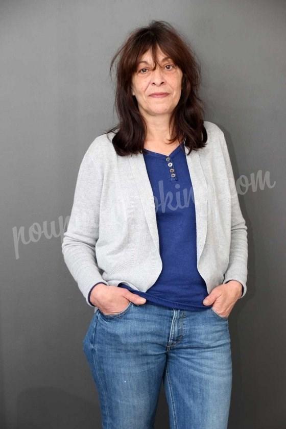 Bon cadeau pour un relooking visage sur Bordeaux - Raymonde - 60 ans