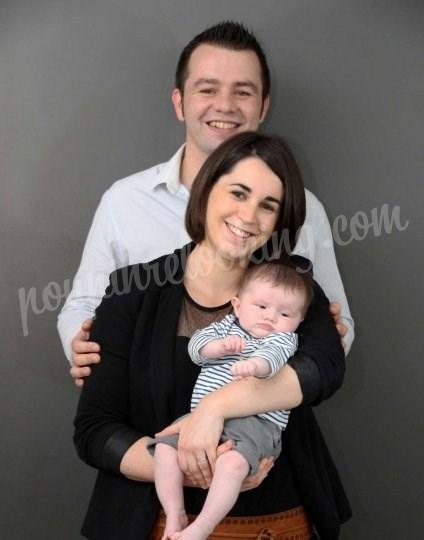 Shooting   - Séance photo studio en famille - Mélanie & Benji -  ans -