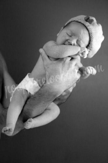 Séance photos bébé sur La Rochelle