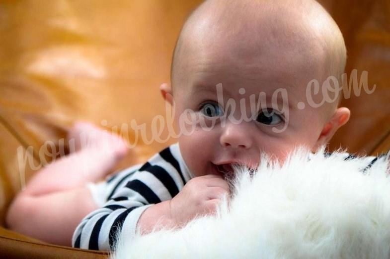 Séance photo bébé sur La Rochelle - Dany