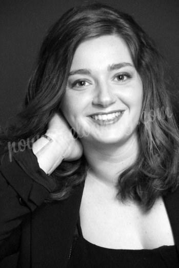 Séance photo en portrait noir & blanc - Alexane