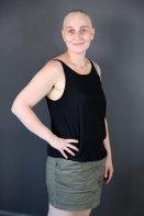 Relooking  Complet - Relooker une femme chauve : le défi de Lise de se sentir féminine sans cheveux - 27 ans - La Rochelle