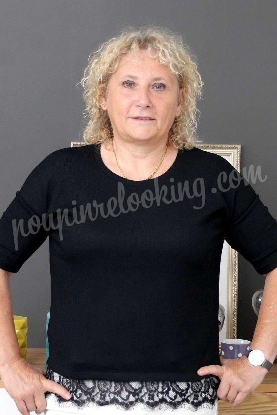 Niort : le relooking complet d'Evelyne aux cheveux bouclés