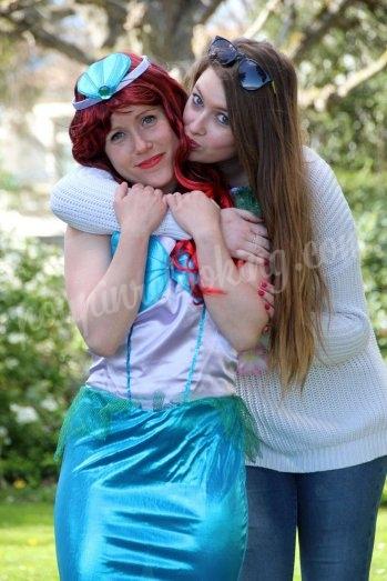 L'EVJF d'Ariel la petite sirène sur La Rochelle
