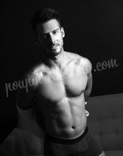 Shooting   - Adrien nouveau modèle en nu artistique -  ans -