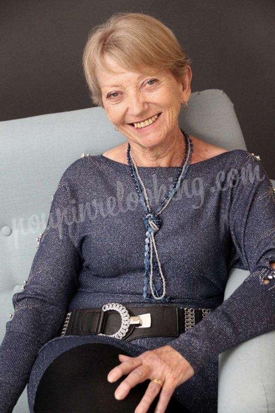 À 70 ans, Pierrette se fait relooker