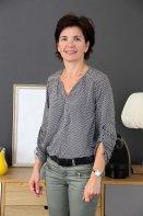 Relooking  Visage - Béatrice venue de Bordeaux pour une coiffure adaptée à son visage - 49 ans - Bordeaux