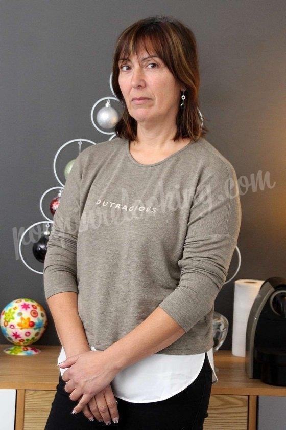 Le relooking complet avec boutiques de Catherine, 41 ans, en Vendée