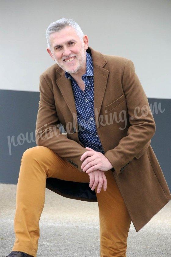 Le relooking homme de Laurent - 50 ans - venu de Poitiers