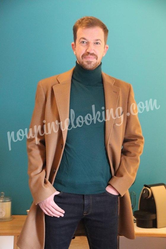 Changement total de look pour Sylvain de La Rochelle